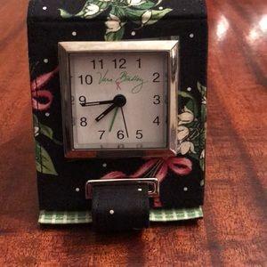 Vera Bradley Travel Clock